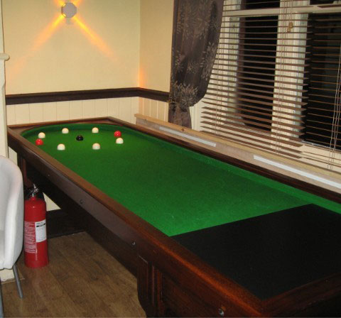 Specialising In Refurbishing Antique Pool And Snooker Tables