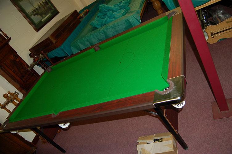Ft Supreme Foldaway Pool Table - Composite pool table