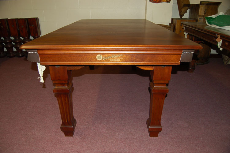 Square amp Fluted Leg 6ft Combination Snooker Dining Table