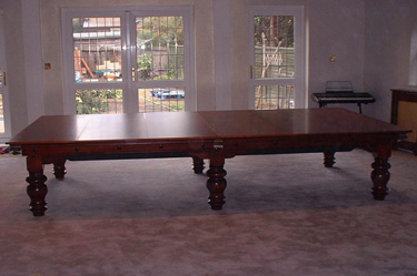 Full size combination snooker pool dining table - Snooker table dining table combination ...
